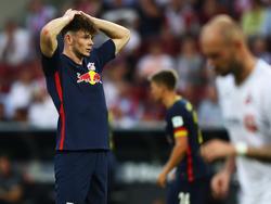 Oliver Burke spielt seit Sommer 2016 bei RB Leipzig