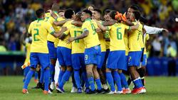 Los brasileños celebran la Copa América de 2019.