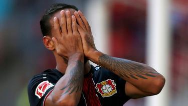 Enttäuscht über das 1:2 gegen Moskau: Karim Bellarabi