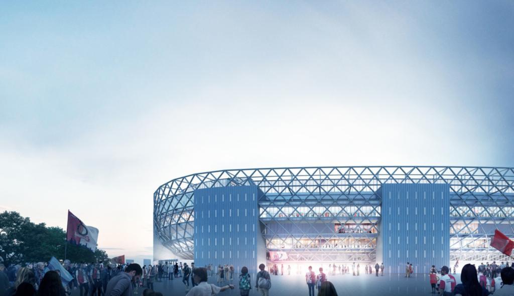 nieuwe kuip Feyenoord