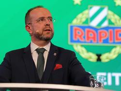 Martin Bruckner ist der neue Präsident des SK Rapid Wien