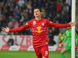 Matchwinner gegen Brøndby: Salzburgs Brenden Aaronson