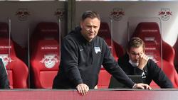 Pál Dárdai, Trainer von Hertha BSC, musste sich eine bittere Pleite ansehen