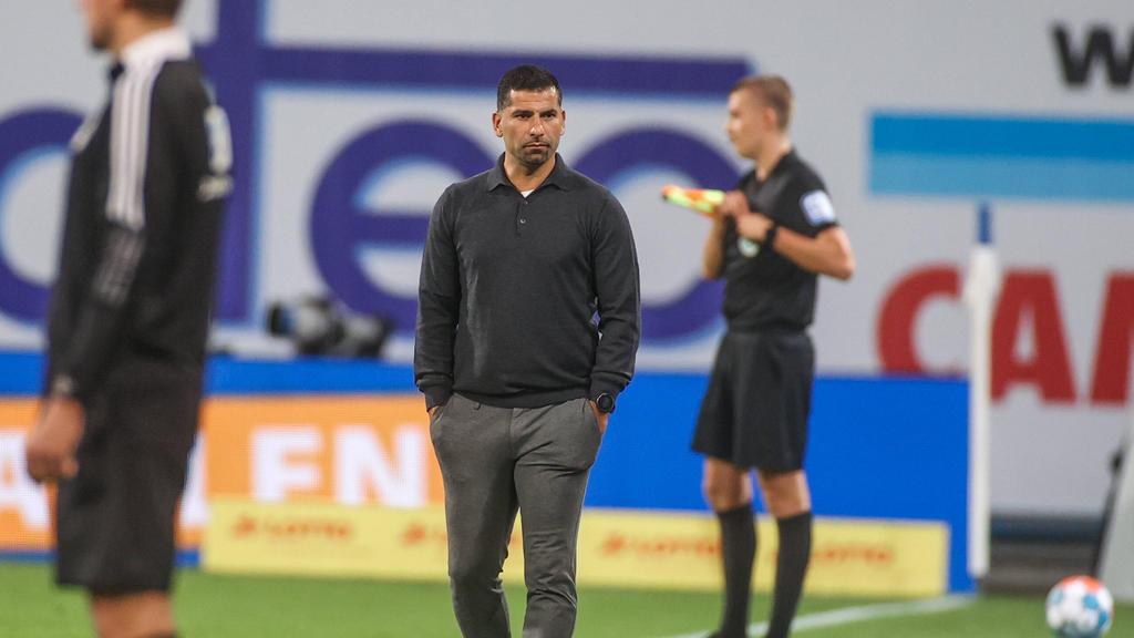 Dimitrios Grammozis trifft beim FC Schalke 04 auch unangenehme Entscheidungen
