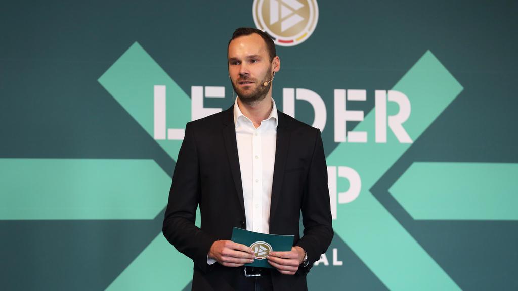 Tobias Haupt ist der Leiter der DFB-Akademie