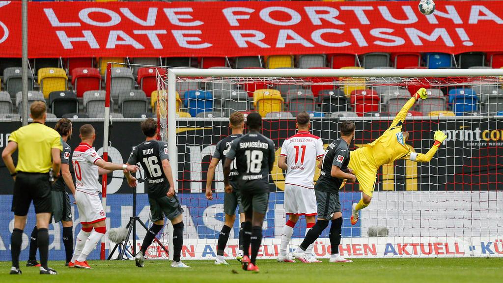 Düsseldorf und Hoffenheim teilen sich die Punkte