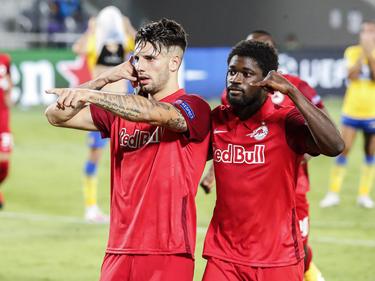Dominik Szoboszlai und Sékou Koïta peilen die CL-Gruppenphase an