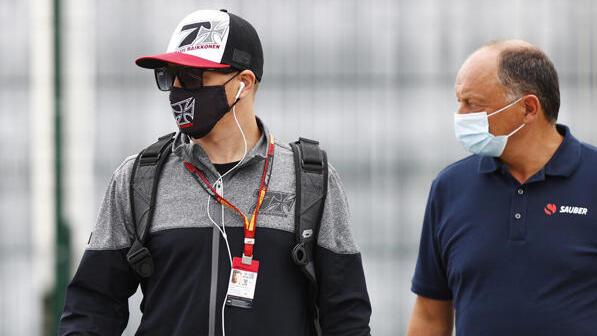Kimi Räikkönen und Frederic Vasseur arbeiten auch 2021 in der F1 zusammen