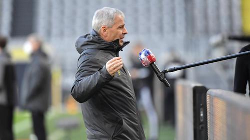 BVB-Coach Lucien Favre hatte einiges auszusetzen
