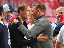 Der Ex-PSG-Coach und der aktuelle Trainer von RB Leipzig sollen in London hoch im Kurs stehen