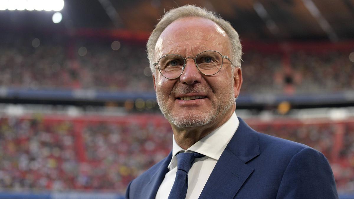 Bayern-Boss Karl-Heinz Rummenigge hat eine ganz besondere Aufgabe