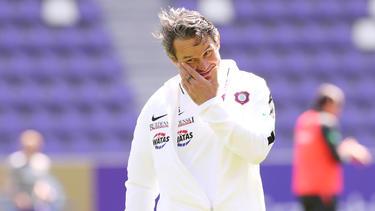 Trainer Dirk Schuster muss in Aue gehen