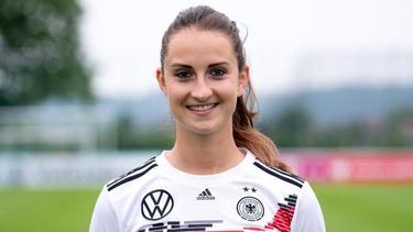 Sara Däbritz ist Führungsspielerin im DFB-Team