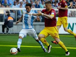 Hartherz (r.) spielt zur neuen Saison bei Arminia Bielefeld
