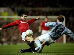 1994: Eric Cantona (l.), Ian Brightwell (r.)