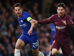 Azpilicueta gegen Messi