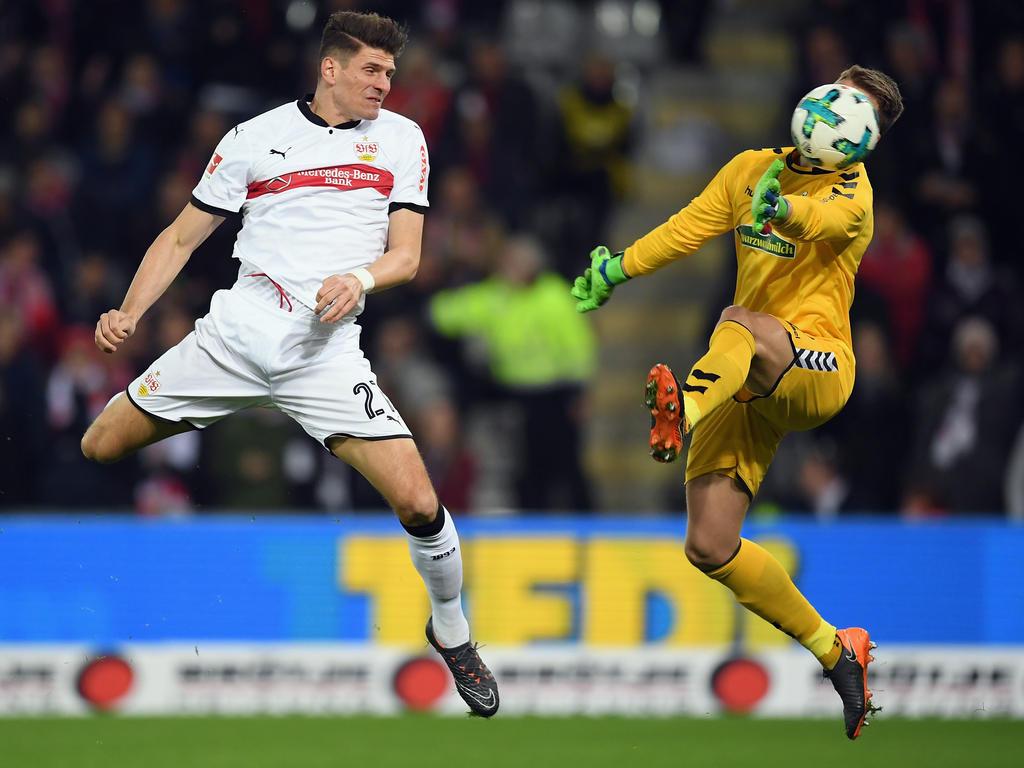 Mario Gomez traf gleich doppelt für seinen VfB Stuttgart