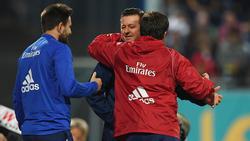 Christian Titz und der HSV feierten einen wichtigen Auswärtssieg