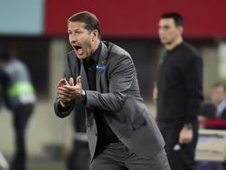 Franco Foda trieb das ÖFB-Team von der Seitenlinie an