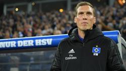 Hannes Wolf trainiert seit Ende Oktober den Hamburger SV