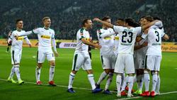 Borussia Mönchengladbach bleibt BVB-Verfolger Nummer eins