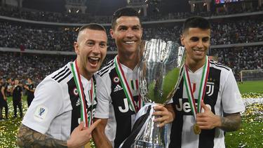 La Juventus ganó la Supercopa italiana ante el Milan. (Foto: Getty)