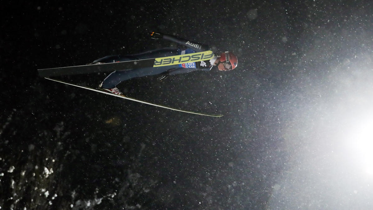 Karl Geiger war bester deutscher Skispringer in Lahti
