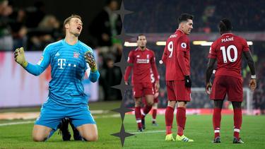 Manuel Neuer droht ein arbeitsreicher Abend an der Anfield Road