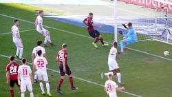 1. FC Nürnberg schlägt den FC Augsburg