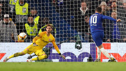 Eintracht Frankfurt musste sich dem FC Chelsea erst im Elfmeterschießen geschlagen geben