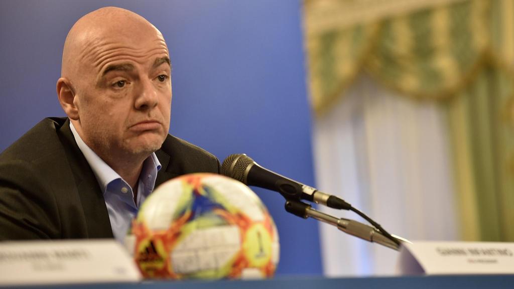 Gianni Infantino muss wohl auf die Mega-WM 2022 verzichten