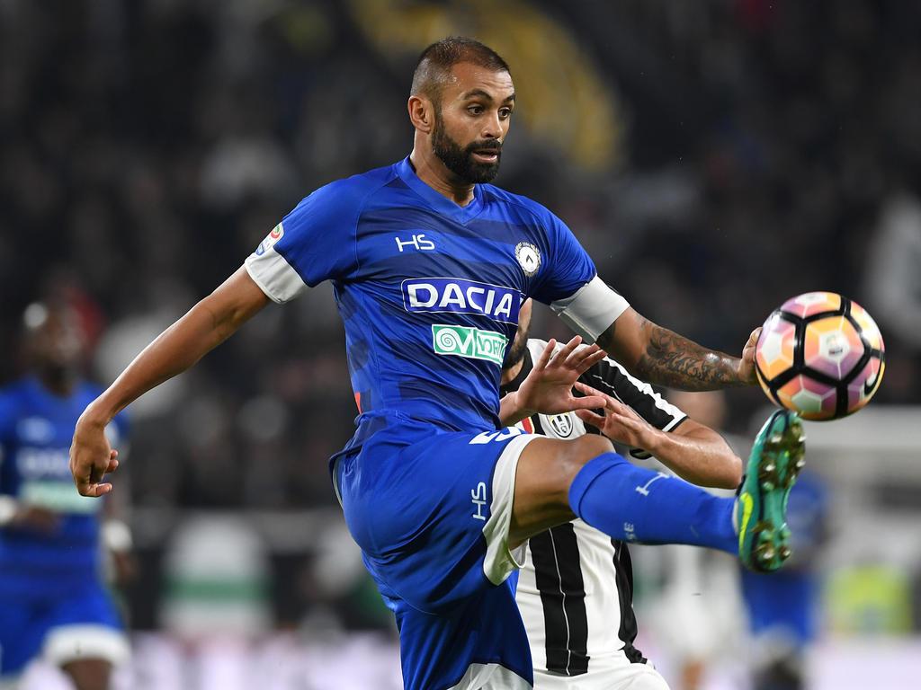 Danilo Larangeira zog sich Ärger der Udinese-Klubführung zu