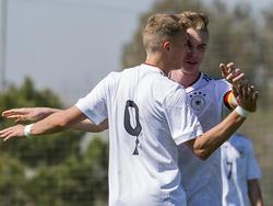 Die deutsche U17 trifft im Viertelfinale auf Brasilien