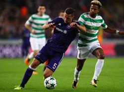 Uroš Spajić verletzte sich in der Champions League gegen Celtic