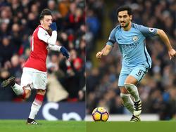 Mesut Özil und Ilkay Gündogan avancierten bei Arsenal und ManCity zu den Spielern des Tages