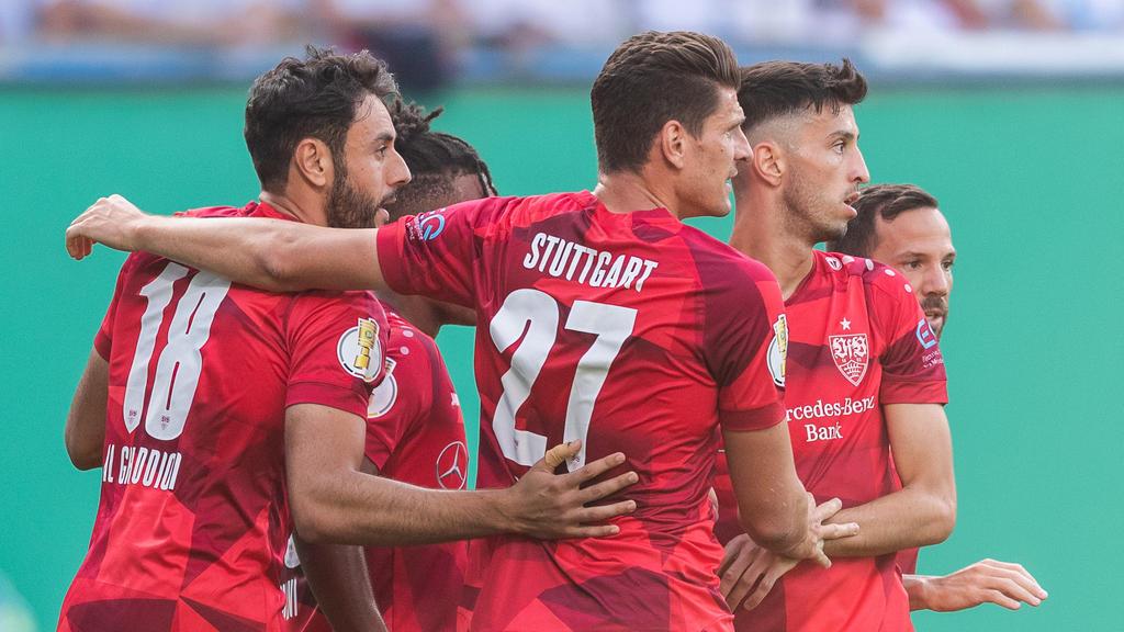 Der VfB Stuttgart steht in der zweiten Runde des DFB-Pokals