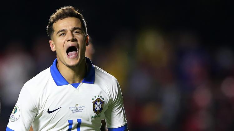 Coutinho es internacional con Brasil.
