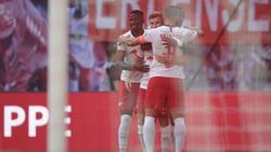 Timo Werner brachte RB Leipzig früh auf Kurs