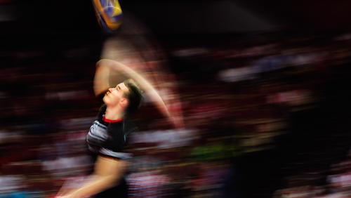 Die deutschen Volleyballer stehen sicher im Achtelfinale der EM