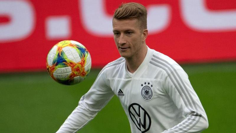 Nahm am Abschlusstraining der DFB-Elf für das Argentinien-Spiel teil: Marco Reus