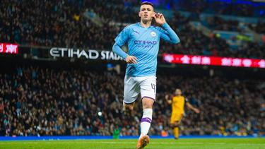 Phil Foden und Manchester City ziehen souverän in die nächste Runde ein