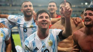 Große Geste von Superstar Lionel Messi