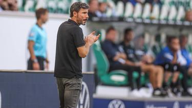 Mark van Bommel vom VfL Wolfsburg leistete sich einen Wechselfehler