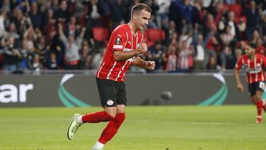Mario Götze überzeugte für die PSV