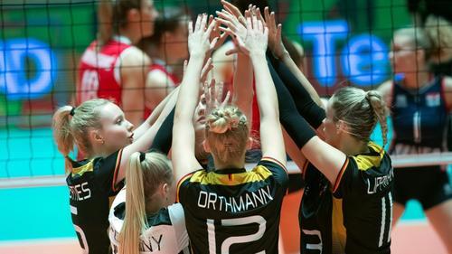 Die DVV-Frauen wollen im Finale befreit aufspielen