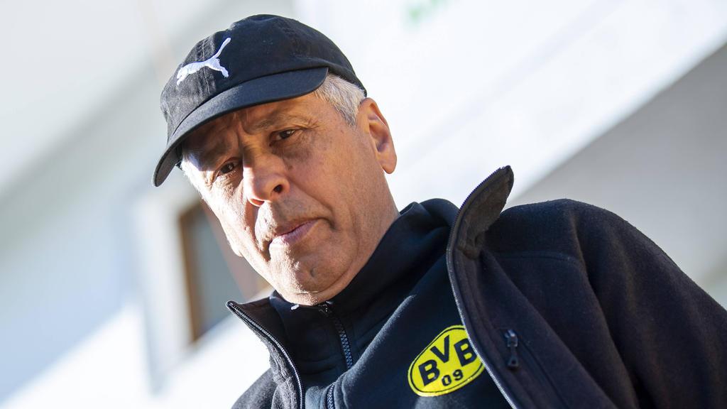Lucien Favre fordert mehr Stabilität von der BVB-Abwehr
