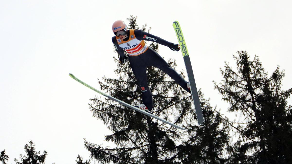 Karl Geiger wurde Elfter in der Qualifikation