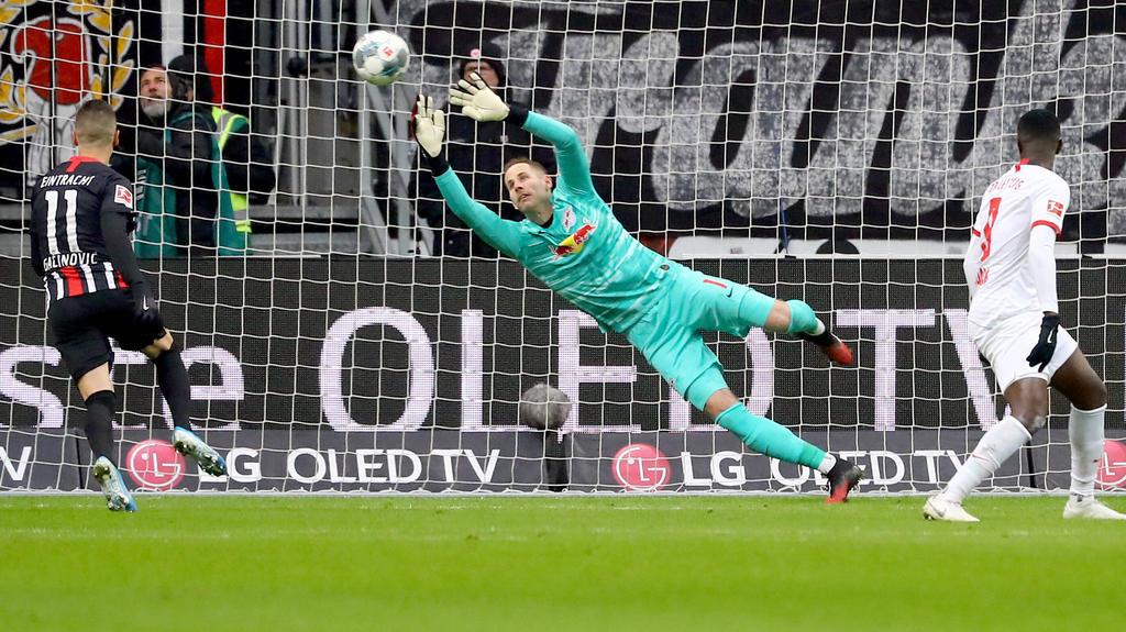 Frankfurt schenkte RB Leipzig zwei Treffer ein