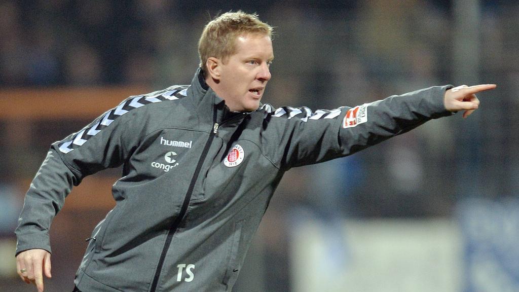 Timo Schultz ist neuer Trainer vom FC St. Pauli
