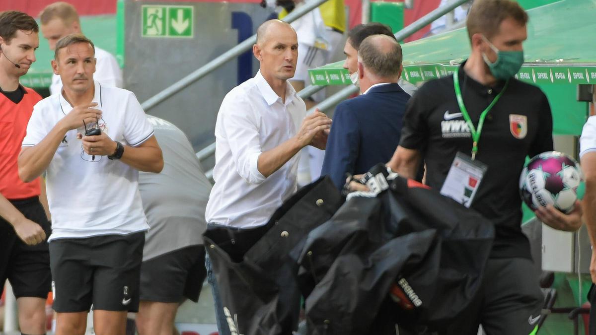 FC Augsburg feiert Rekordsieg im DFB-Pokal